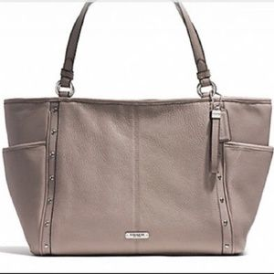 Coach Park Leather Studded Tote